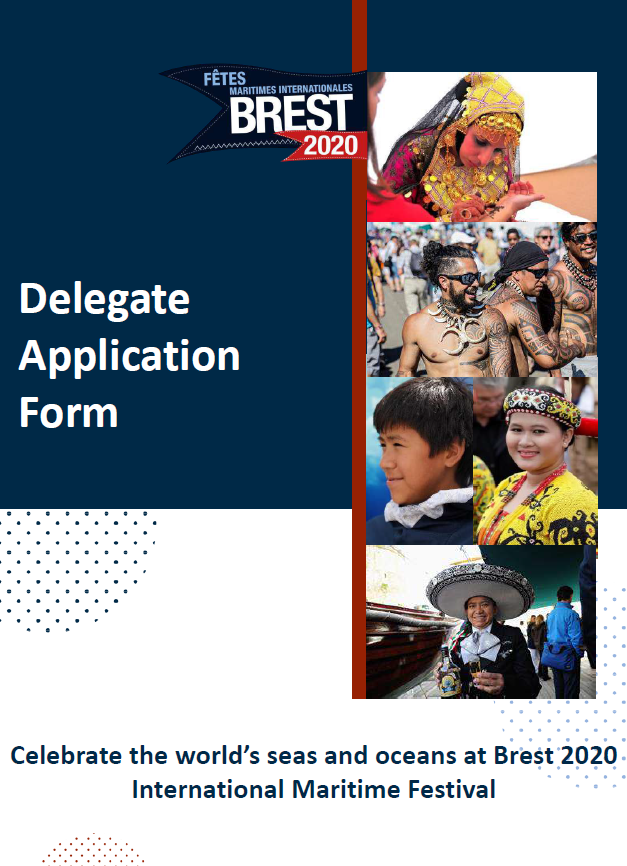 Delegate application form 1st page